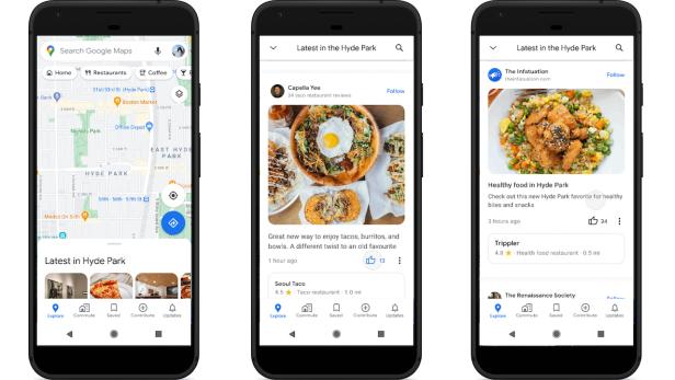 Google Maps-update: de Community Feed