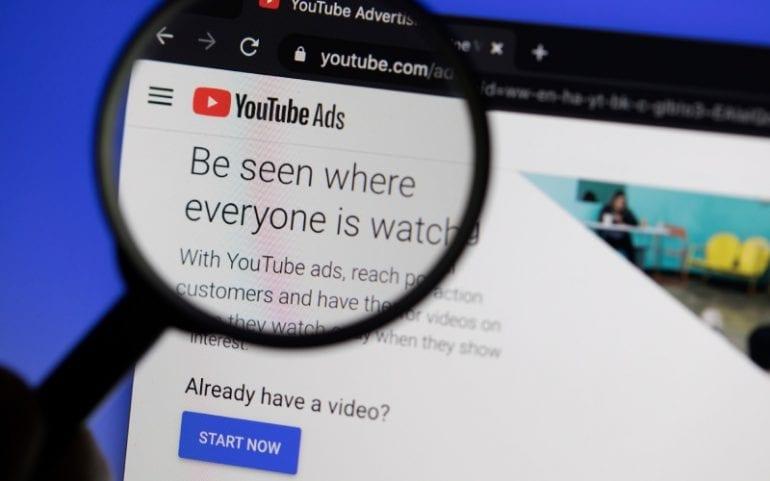 Inzoomen op Youtube Ads