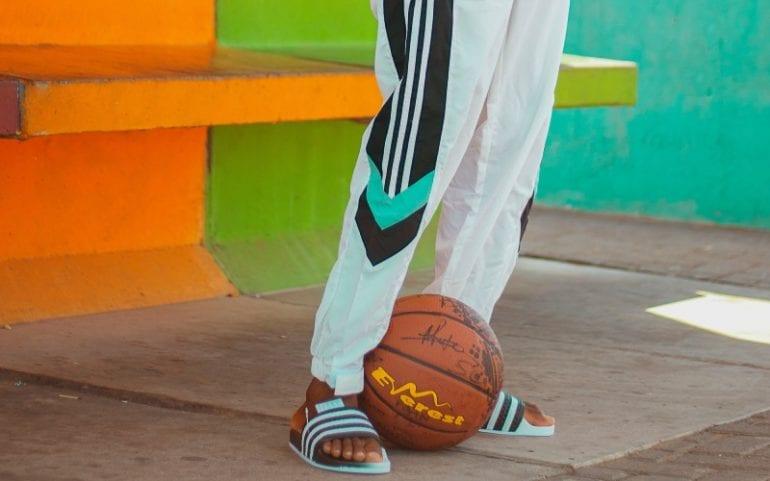 Jongerenmerk Adidas broek