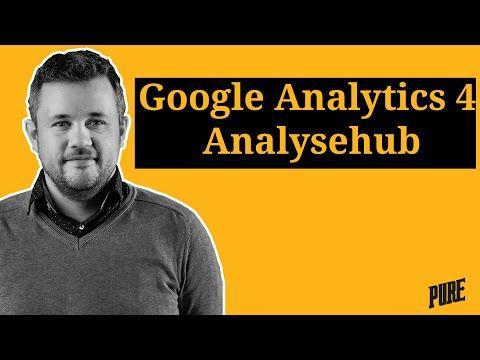 Google Analytics 4 Analysehub tutorial – Een Pure Handleiding