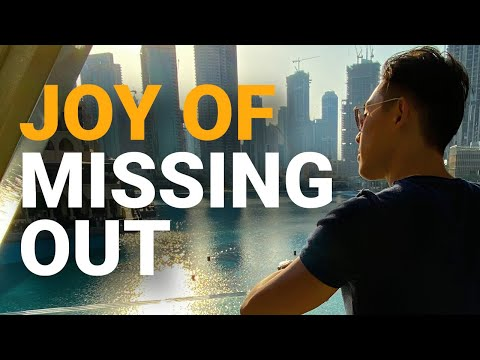 Joy Of Missing Out   Motivational   Jia Ruan