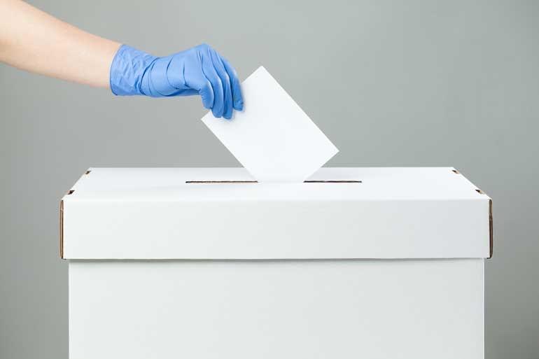 Verkiezingen en corona.