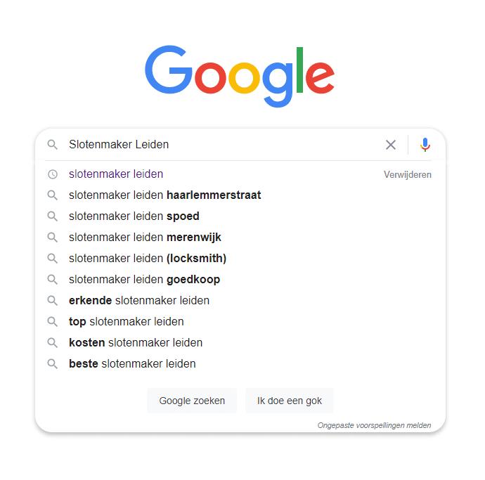 Suggesties Google