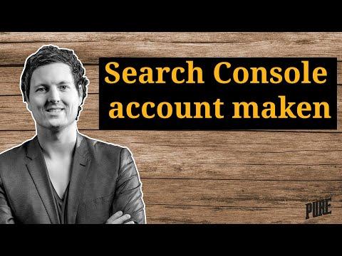 Google Search Console account aanmaken + verifiëren – Een Pure Handleiding