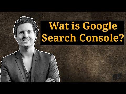 Wat is Google Search Console en hoe werkt het? – Een Pure Handleiding