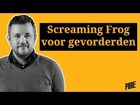 Screaming Frog analyses voor gevorderden – Een Pure Handleiding