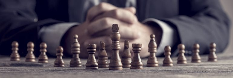 Afbeelding van een schaakbord.
