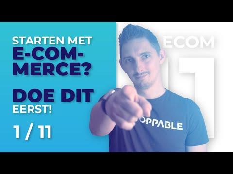 Online Geld Verdienen met E Commerce? Doe dit eerst!