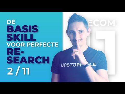 Perfecte E-Commerce Product Research: Master Deze Skill